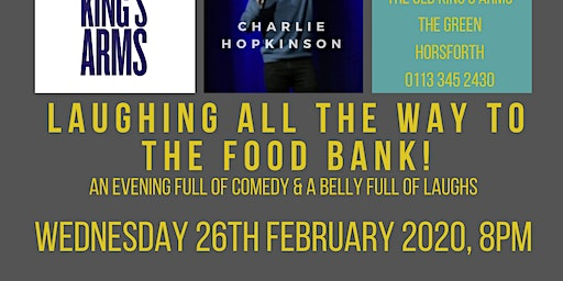 Laughing All The Way To The Food Bank- a night of comedy