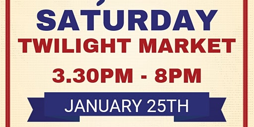 Saturday Twilight Market in Manjimup for the Australia Day Long Weekend!