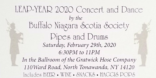Leap-Year 2020 Concert and Dance