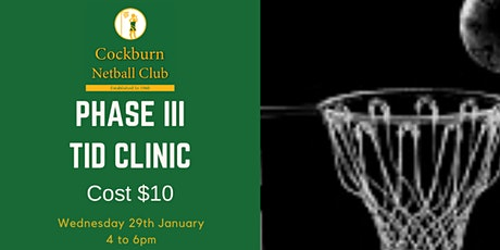 Phase III TID Clinic tickets