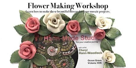 Flower Making Workshop: with Cheryl Hann-Woodlock tickets