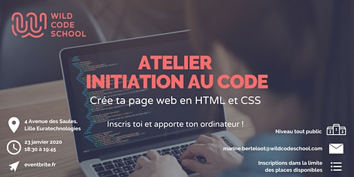 Atelier Initiation au Code