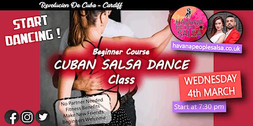 Cuban Salsa Class at Revolucion de Cuba with Havana People