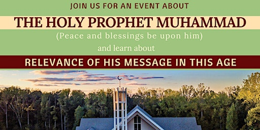 AN EVENT ABOUT THE HOLY PROPHET MUHAMMAD (peace and blessings be upon him)