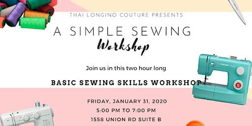 Simple Sewing Workshop