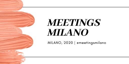 MEETINGS MILANO ITA\ENG
