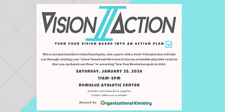 Vision2Action - Take action on your career & personal development in 2020! tickets
