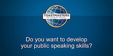 Capital Communicators Toastmasters Club - Public Speaking tickets