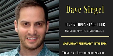 Have-Nots Comedy Presents Dave Seigel tickets