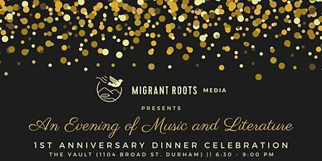 1st Anniv Dinner: An Evening of Music & Literature (#MRMisONE) tickets