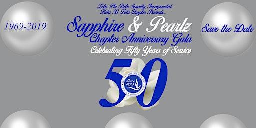 Sapphire & PearlZ  50th Charter Gala