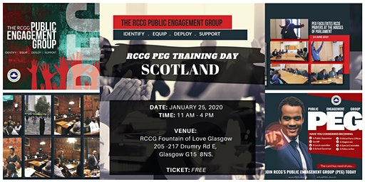 RCCG PEG Training Day - Scotland