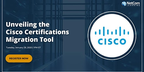 Webinar - Unveiling the Cisco Certifications Migration Tool tickets