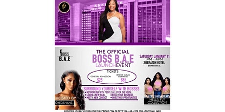 The BOSS B.A.E Launch Event tickets