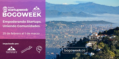Techstars Bogotá Startup Week  2020 entradas