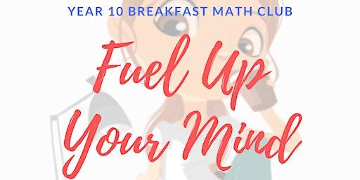 Year 10 - Breakfast Math club