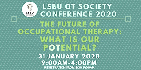 LSBU Occupational Therapy Society Conference 2020 tickets