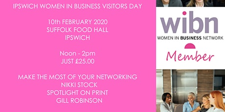 WOMEN IN BUSINESS NETWORK IPSWICH - VISITORS DAY LUNCH tickets