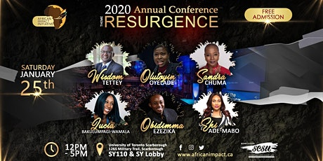 African Impact Conference - RESURGENCE tickets