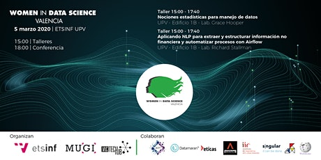Women in Data Science Valencia 2020 entradas