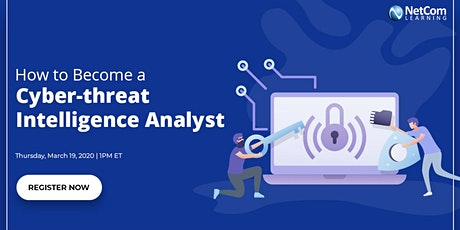 Webinar - How to Become a Cyber-threat Intelligence Analyst tickets