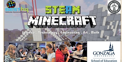 STEAM Minecraft at Spark Central with BESThq (Spokane: 2/7 – Session 3pm)