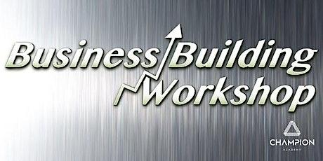 Business Building Workshop - For Female Entrepreneurs tickets