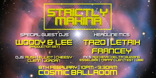 STRICTLY MAKINA The Launch Party