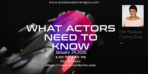 What Actors Need to Know To Get Booked