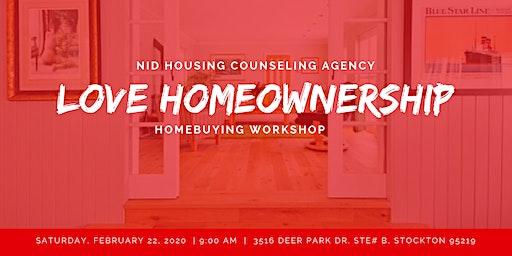 Love Homeownership Homebuying Workshop