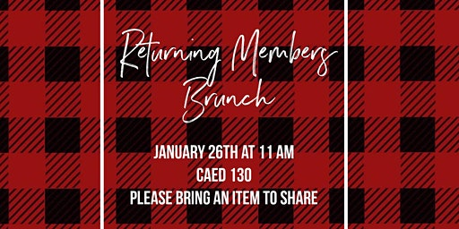 Returning Members Brunch