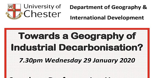 Towards a Geography of Industrial De-carbonisation