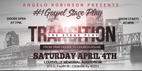 TRANSITION FROM TRAP HOUSE TO CHURCH HOUSE  tickets