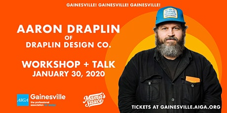 "Aaron Draplin: ""Things That Don't Have A Thing To Do With Graphic Design"" tickets"