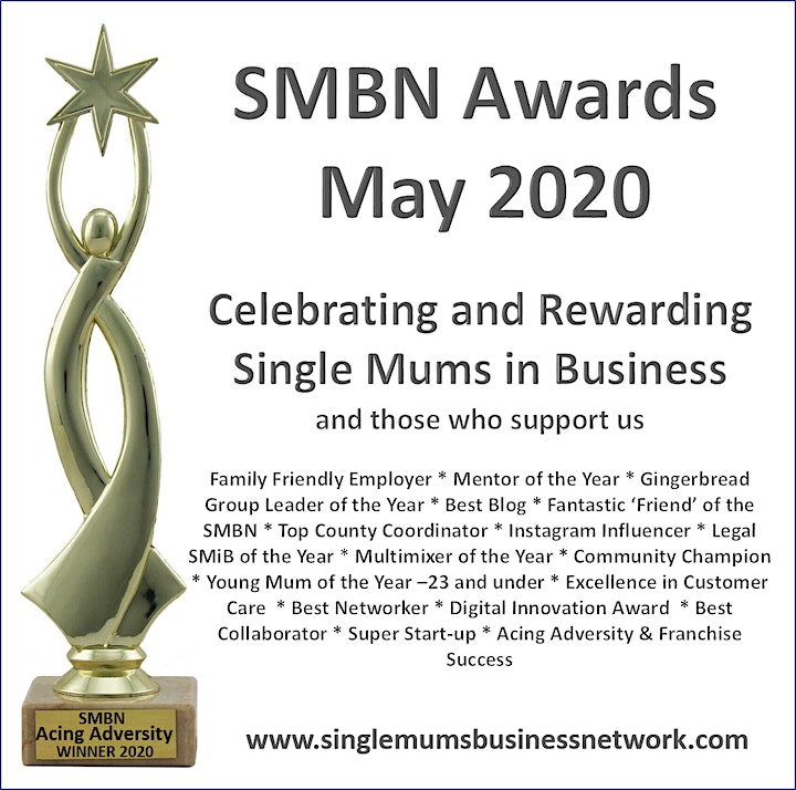 Single Mums Business Network Awards 2020 image