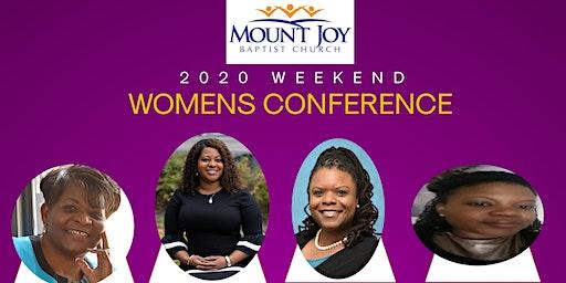 Mount Joy Baptist Church 2020 Weekend Women's Conference