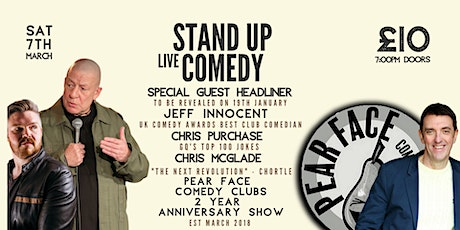 Stand up Comedy with Headliners Special Guest and Jeff Innocent tickets