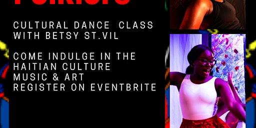 Haitian Folklore/Cultural Dance Class