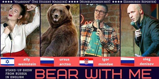 English stand-up: Bear With Me comedy show / Helsinki