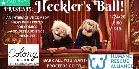 Heckler's Ball: Disses for Doggos! tickets