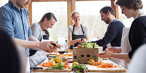 Riverford Vegan, Organic Cookery Class at Coolangatta, Wimbledon