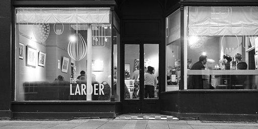 Greek Feast Night at the Larder Cafe, Preston