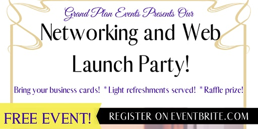 Networking and Web Launch Party