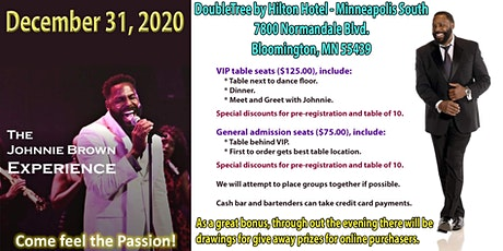 New Year's Eve Celebration with Johnnie Brown tickets