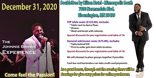 New Year's Eve Celebration with Johnnie Brown