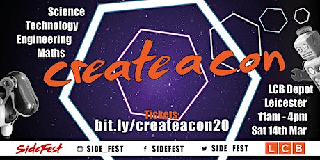 CreateACon 2020 tickets