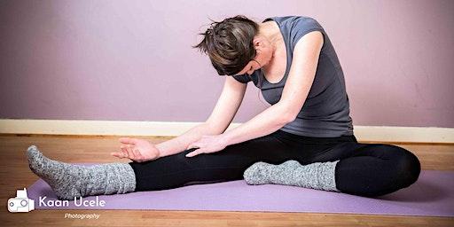 Yin yoga + optional meditation