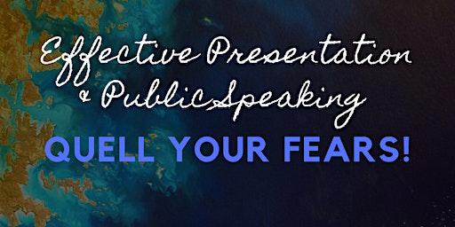 Effective Presentation & Public Speaking