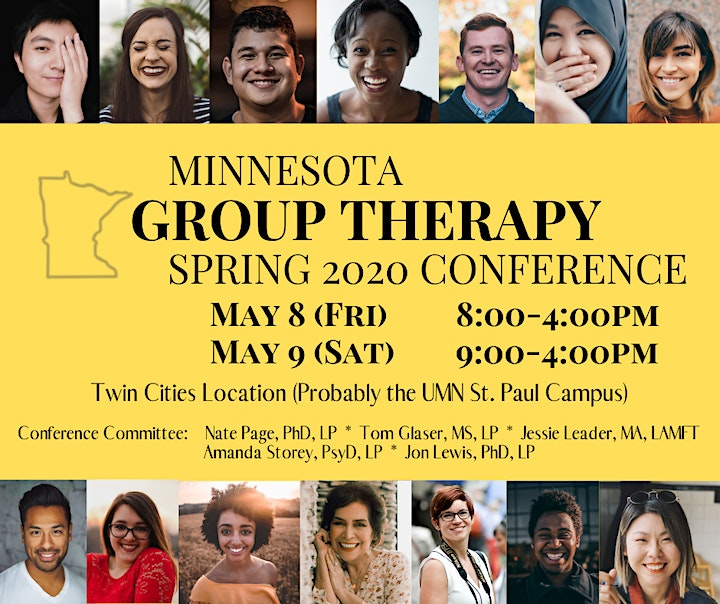 Minnesota Group Psychotherapy 2020 Spring Conference image