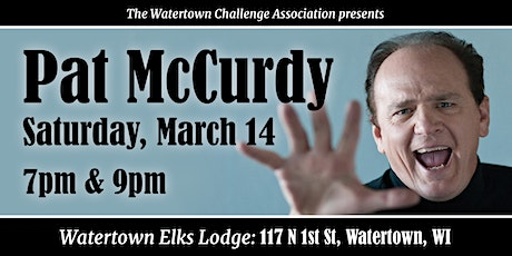 Pat McCurdy at the Elks Lodge tickets